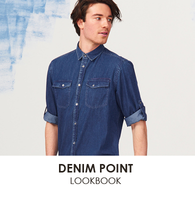 Man Denim Point мал